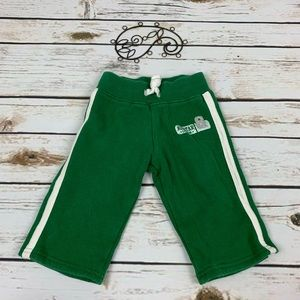 Carter's Boys Sweatpants Green Size 6 Months